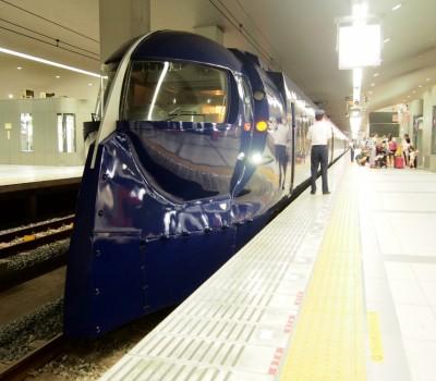 関西空港アクセス特急 競演乗り比べ①南海電車、ラピート号