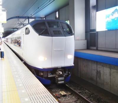 関西空港アクセス特急 競演乗り比べ②JR西日本、はるか号