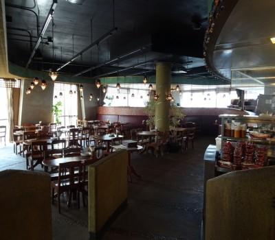 【鉄道のあるレストラン】モンスーンカフェ茶屋町トレインビューレストラン 大阪梅田