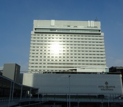 【鉄道のあるホテル】ホテルグランヴィア広島 トレインビュールーム体験