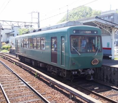 昭和の小学校教室みたいな車両、叡山電鉄「ノスタルジック731」