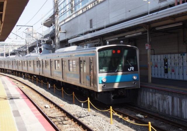 JR奈良線にデビューした205系1000番台