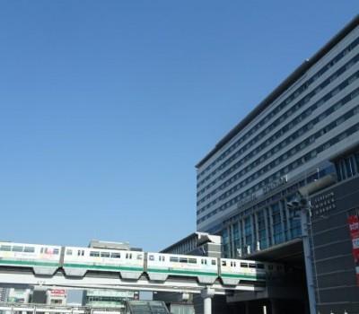 【トレインビュー】ステーションホテル小倉 デラックスツイン