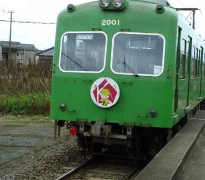 銚子電鉄仲ノ町駅車庫を見学してきた