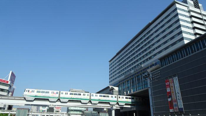 【トレインビューホテル】JR九州ステーションホテル小倉からモノレールや新幹線、在来線を楽しむ。